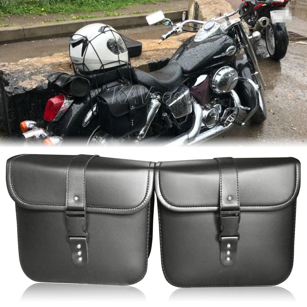 Motorcycle Tool Saddle bag For Suzuki Intruder Volusia VS 700 750 ...