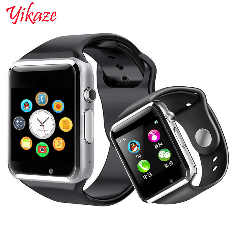 Smart Uhr A1 für kinder männer frauen android Bluetooth Smartwatch Mit kamera Unterstützung anruf musik Fotografie SIM TF karte & DZ0