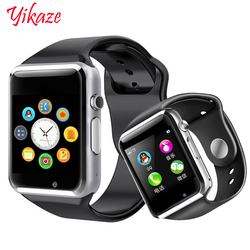 Astuto Della Vigilanza A1 per i bambini delle donne degli uomini di android Bluetooth Smartwatch Con La macchina fotografica di Sostegno di musica chiamata Fotografia SIM carta di TF & DZ0
