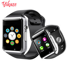 Smart Watch A1 for children men women android Bluetooth Smartwatch With camera Support call music Photography SIM TF card & DZ0(China)