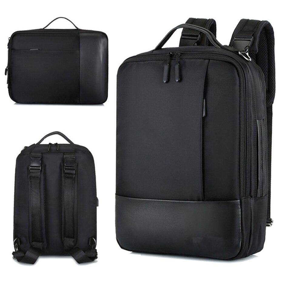 Business Backpack Men Laptop Backpacks 17 15.6 Inch Waterproof Male Bags USB Charging Back Pack Notebook Black Travel BagpackBusiness Backpack Men Laptop Backpacks 17 15.6 Inch Waterproof Male Bags USB Charging Back Pack Notebook Black Travel Bagpack