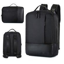 Mochila de negocios para ordenador portátil para hombres y mujeres, morral impermeable de 15,6 pulgadas para hombre y mujer, paquete de cuaderno con carga USB, mochila de viaje negra