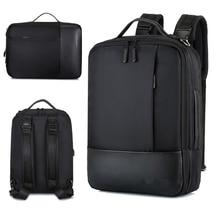 Zakelijke Rugzak Mannen Laptop Rugzakken 15.6 Inch Waterdichte Mannelijke Vrouwen Zakken Usb Opladen Back Pack Notebook Zwart Reizen Bagpack