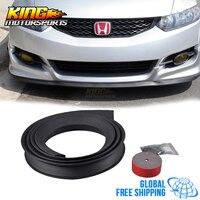 Type 1 Universal Fitment Quick Front Bumper Lip Splitter Shield EZ 100 Inch Global Free Shipping Worldwide