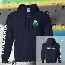 Tanzania Tanganyika Tanzanian mens hoodies and sweatshirt casual polo sweat suit streetwear tracksuit nations fleece zipper flag