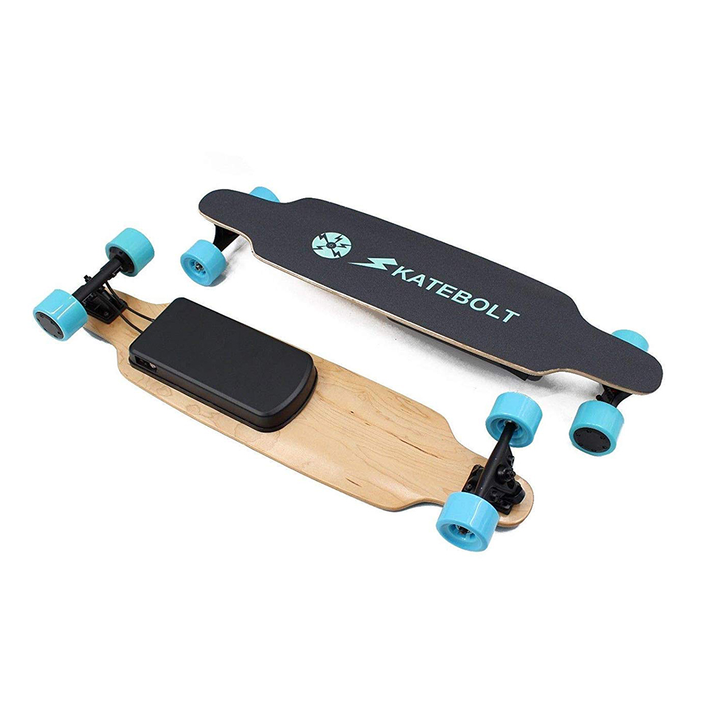 Cyrusher SKATEBOLT S3 Breeze Electric Skateboard Dual Motors 14 Miles Range 19 MPH With Remote Controller