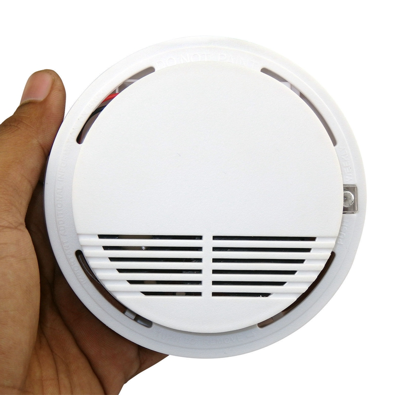 DC9V Battery Operation Stand Alone Independent Smoke Detector 6