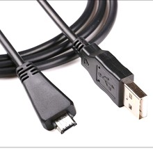 Usb Data Kabel Voor Sony Cyber Shot VMC MD3 DSC T99C T99DC T110D W350 W350D W570D H70 TX5C DSC TX66 DSC TX55 DSC TX20