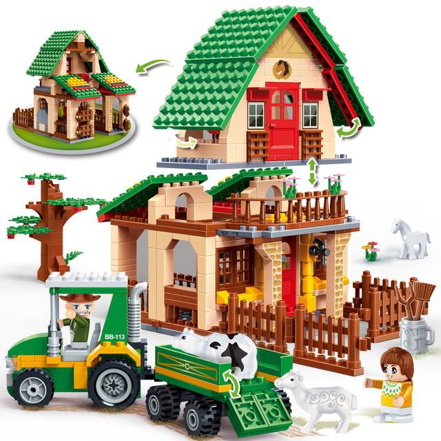Countryside House Blocks Set