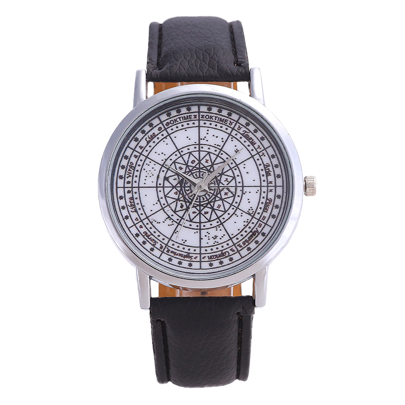 hot women watches diamonds geometry five-pointed star pointer stainless steel dial solid color high quality fashion ladies living color cute five pointed star embellished bead chain bracelet for women
