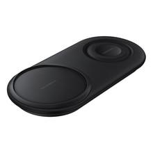 2 IN 1 Caricatore Senza Fili 25W Veloce DUO per Samsung S10 S10e S9 S8 Note9 Galaxy Orologio Attivo Gear s3 S2 Sport Pad di ricarica Senza Fili