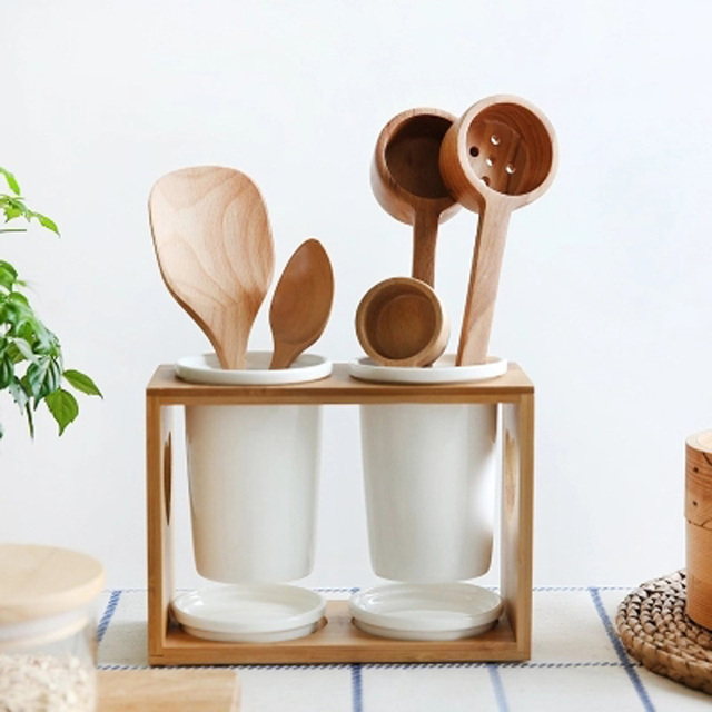 Natural Beech Wood Craft Spoons