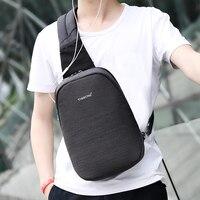 Tigernu Sling Bag Men Water Resistant Messenger Crossbody Bags Fit for 9.7 inch iPad with Headphonr Port Shoulder Bag for Women