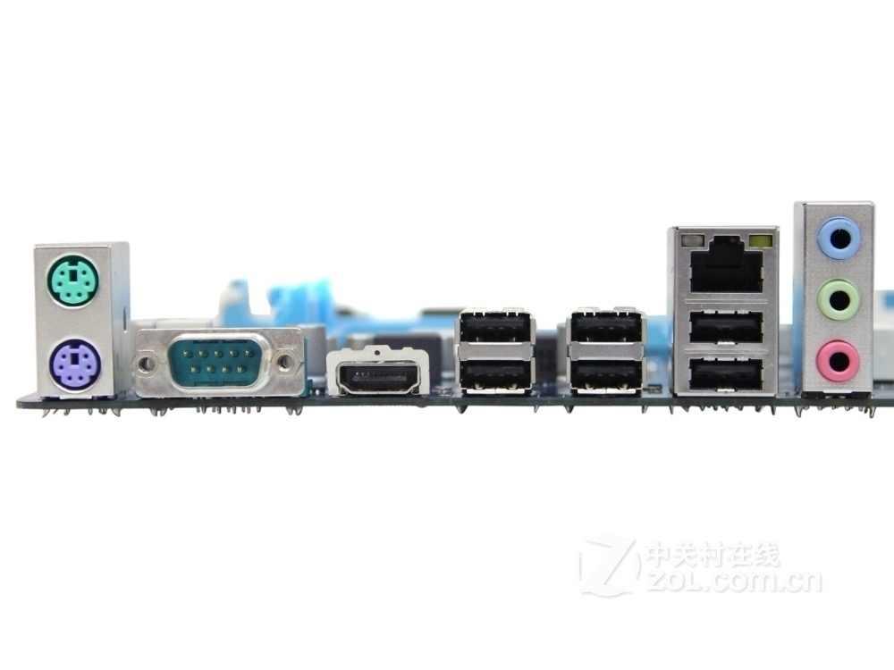 اللوحة الأم الأصلية لجيجابايت GA-A55-S3P DDR3 المقبس FM1 32 جيجابايت USB2.0 A75 سطح المكتب