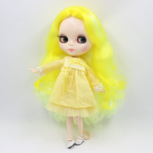 Factory Neo Blythe Doll Bright Mix Yellow Hair Jointed Body 30cm