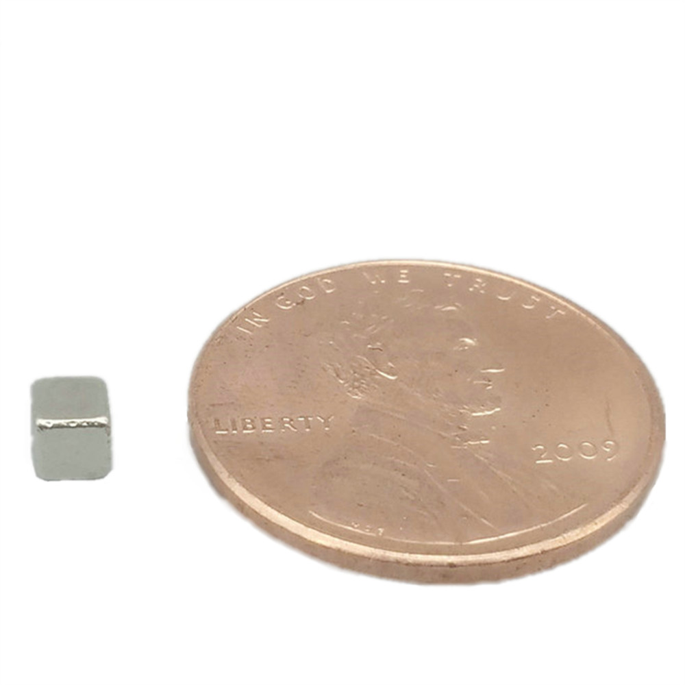 NdFeB Block 3x3x3 mm <font><b>5x5x5</b></font> mm Small cubes <font><b>Magnet</b></font> Strong <font><b>Neodymium</b></font> Permanent <font><b>Magnets</b></font> Rare Earth Lifting <font><b>Magnets</b></font> N42 216-6000pcs image