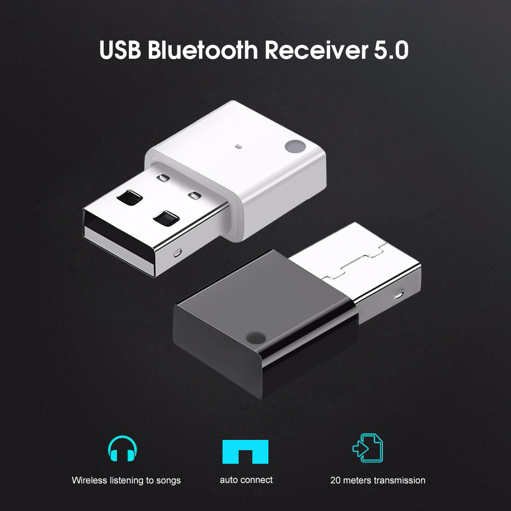 KEBIDU Mini Wireless USB Bluetooth 5 0 Adapter For Car Radio Subwoofer  Amplifier Multimedia Audio Adapter Bluetooth Receiver