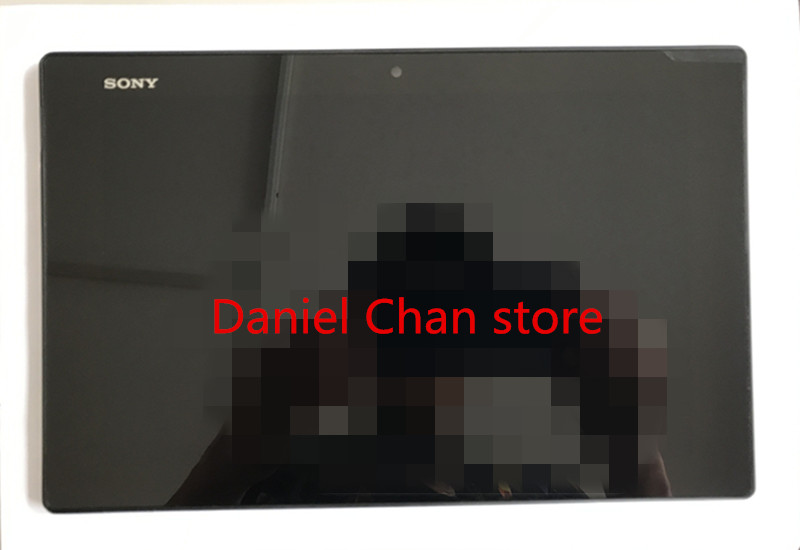 Free shipping Good quality LCD Display Touch Screen Digitizer Glass Assembly For Sony Xperia Tablet Z1 SGP311 312 black lcd display for sony xperia z2 d6502 d6503 d6543 l50w touch screen digitizer free shipping