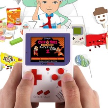 RS-6 2.5 Inch Children Kids Game Player Portable Handheld Classic Appearance Video Game Console Mini Game Play With 129 Games