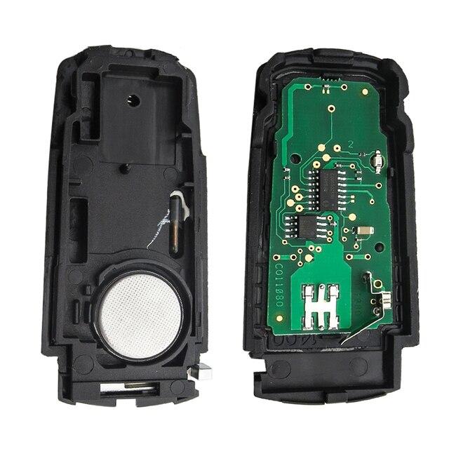 OkeyTech-porte-clés intelligent de voiture | Sans clé, rabattable, 433MHZ, avec puce ID48, pour VolksWagen Passat B6 3C B7 Magotan CC