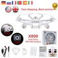 X800 MJX rc helicóptero 2.4G 4CH 6-Axis drone quadcopter con C4005 HD fpv wifi cámara de vuelo en tiempo real vs syma x5c x400 x5sw sc
