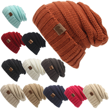 Winter Brand Female Ball Cap With Tag Winter Hat For Women GirlS Hat Knitted Beanies