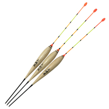 3pcs/lot Shallow Water Fishing Float Balsa Wood Buoy Bobber Flotteur Peche Carp Float Fishing Tackle Vertical Tools Accessories night fishing float light bobber floats luminous fishing buoy fishing electric balsa wood flotteur de peche fishing tackle