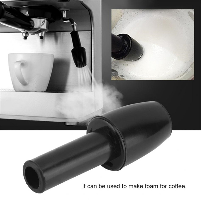 Plastic Reusable Durable Coffee Machine Spout Make Foam Froth Nozzle Coffee Machine Part Coffeeware SEAAN