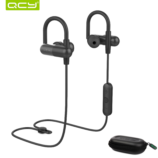 QCY combination sets QY11 sports earphone bluetooth headphones and portable storage box for iPhone Android Phone