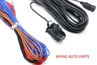 Used for VW JETTA M5 MK6 TIGUAN RGB Rear View Reversing Camera harness Cable wire RCD510 RNS510