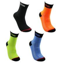 Kiváló minőségű pamut férfiak tavaszi sport futás kosárlabda zokni védi lábak lélegző sportos zokni kerékpározás zokni kerékpárok zokni