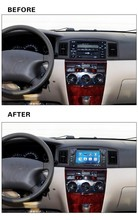 Free Shipping Rom 16 G 4 Core Android 5.1 Fit BYD F3 Toyota Corolla E120 2003-2006 Car dvd player DVD head unit GPS radio TV 3 G