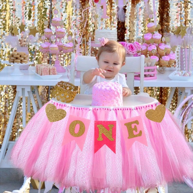 Patimate 1St Birthday First Boy Garland Baby Girl One Year