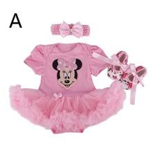 Baby Girl Infant 3pcs Birthday & Party Clothing Set