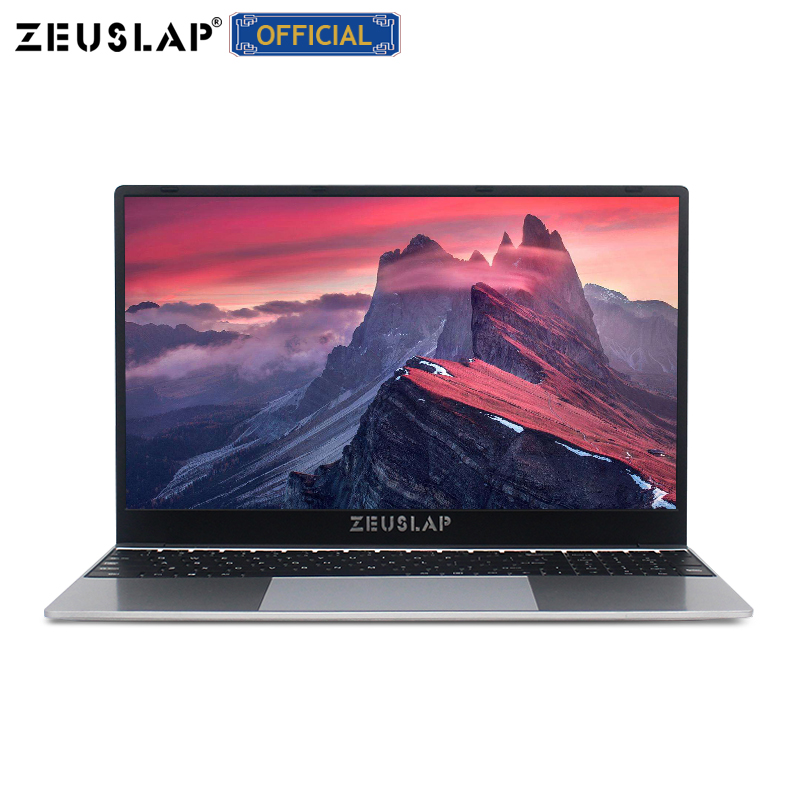 15.6 pouces i7 CPU ordinateur portable avec 8G RAM 1 to 512G 256G 128G SSD ultra-mince ordinateur portable Ultrabook intel Quad Core Win10 ordinateur portable