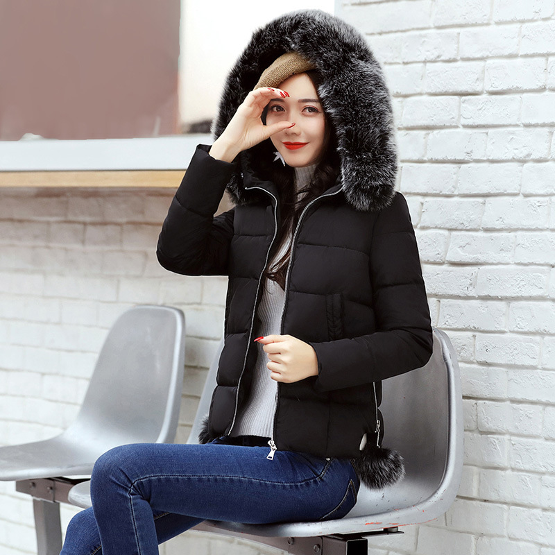 Streetwear Fashion Woman Bomber   Jackets   Ladies Winter Parka Women Warm Casual Short Coats Female Coat Winter   Basic     Jacket   MDR114