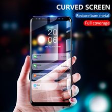 3pcs/Lot Full Cover Tempered Glass Film For Samsung A8 Plus A9 A5 A6 Plus A7 J4 J2Pro J2 J6 J8 2018 J5 Screen Protector HD(China)