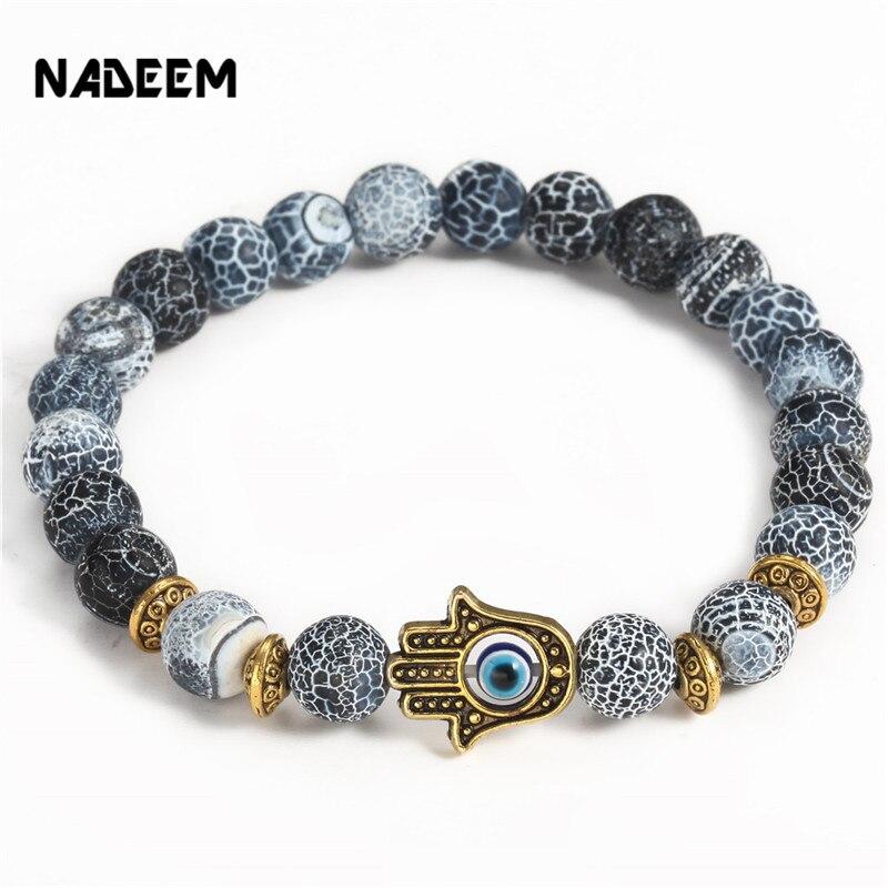 Curved Circle//Small Flower//Hamesh//Hamsa Hand Bracelet Sterling Silver Bracelet