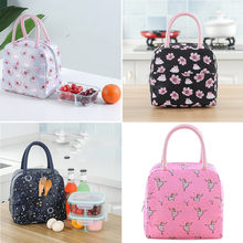 Colorful Portable Multifunction Fashion New Portable Waterproof Thickness Picnic School Milk Lunch Bag Insulated Bag H0409(China)