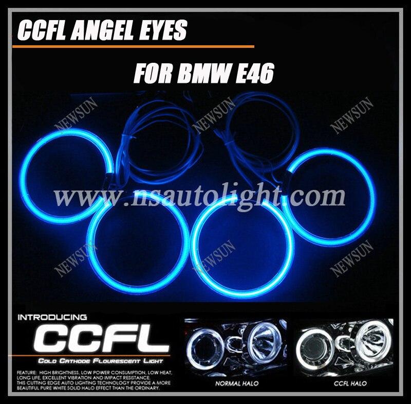 Подробнее о Error free CCFL angel eyes headlight kit e36 e38 e39 e46 projector ring angel eyes lighting colorful ccfl halo angel eye halo ring ccfl angel eye kit projector type 7000k white lamp for bmw e36 e39 e46 free shipping