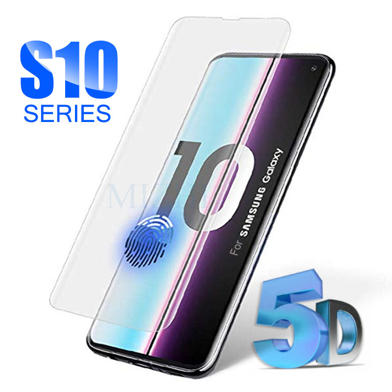 Protective Glass On For Samsung S10e S10 Plus For Galaxy S9 S8 Tempered Glas S 10 E 9 8 S10plus Samsong Gelaksi Screenprotector