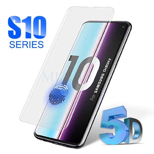 מגן זכוכית על לסמסונג s10e s10 בתוספת עבור galaxy s9 s8 מזג גלאס s 10 e 9 8 s10plus samsong gelaksi screenprotector