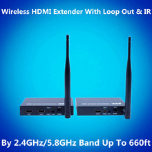 660ft Wireless HDMI Extender Kit 200m 1080P Wireless Video Audio Transmission WIFI HDMI Transmitter Receiver With Loop out & IR
