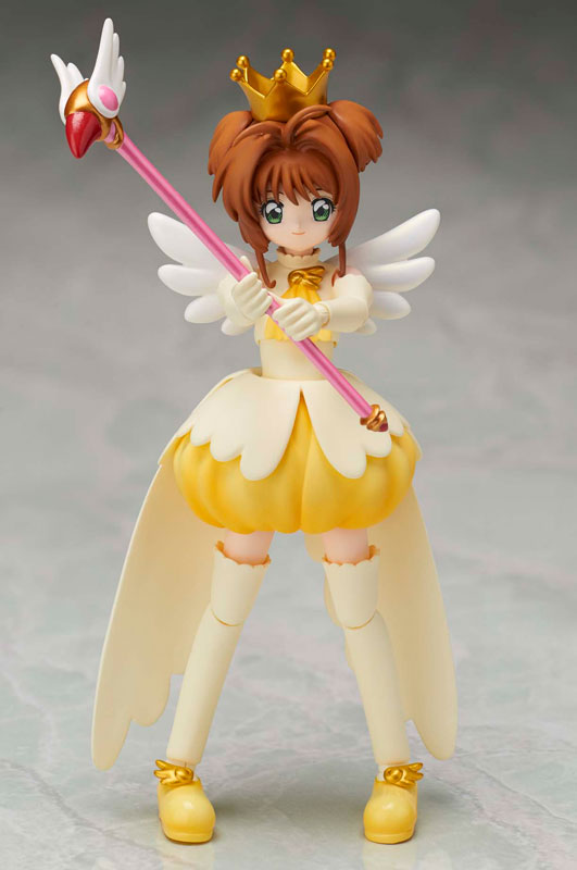 Anime Cardcaptor Sakura Original BANDAI Tamashii Nations S.H.Figuarts SHF Action Figure - Sakura Kinomoto (Tobira wo Hirake) cardcaptor sakura kinomoto sakura clear card version 19cm anime model figure collection decoration toy gift
