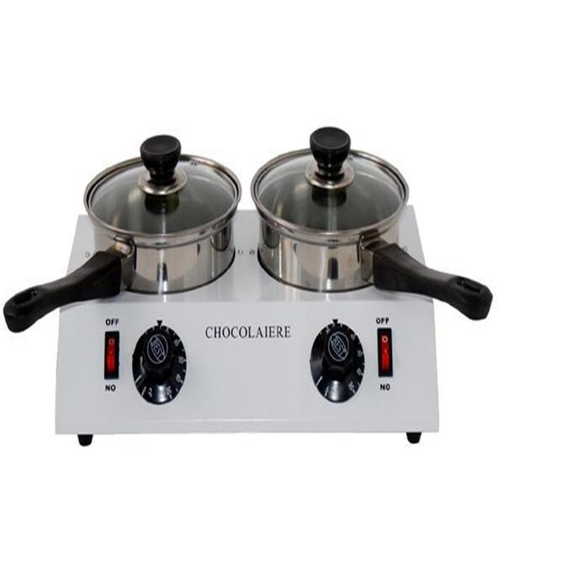 DIY duplex melting furnace baking tools 2 pots chocolate melter double boiler  2  Lattice chocolate melting furnace evolis avansia duplex expert smart
