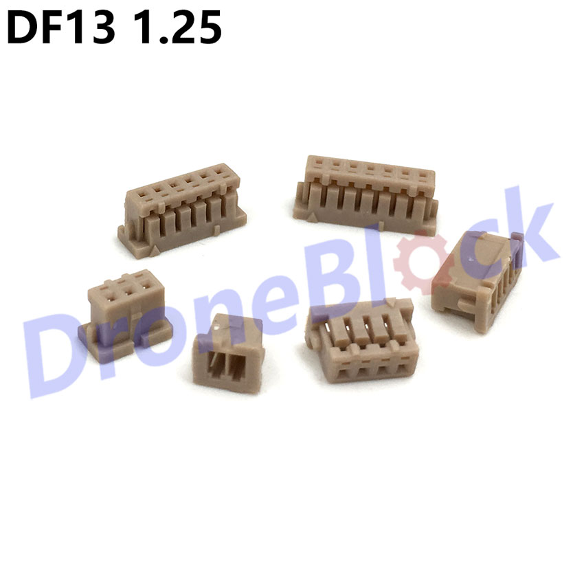 20 Pcs/ a lot <font><b>DF13</b></font> 1.25 Plug connector Pixhawk/PX4/apm2.x GPS Bluetooth Telemetry OSD power module airspeed image
