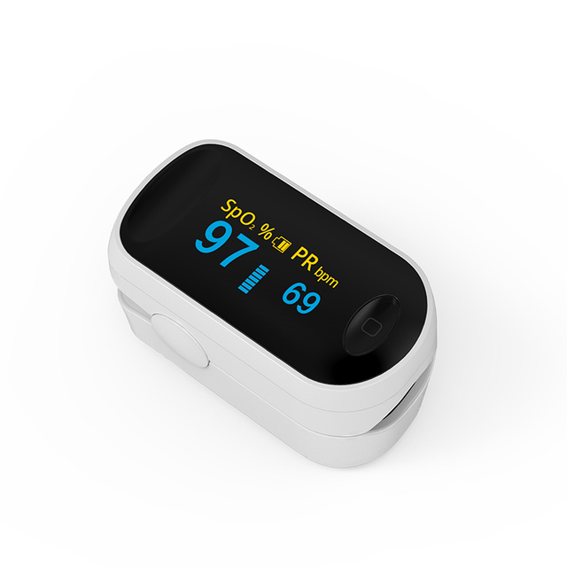 BOXYM Medical Portable Pulse Oximeter OLED Pulsioximetro blood oxygen Heart Rate Monitor Oximetro Household Health Monitors 4