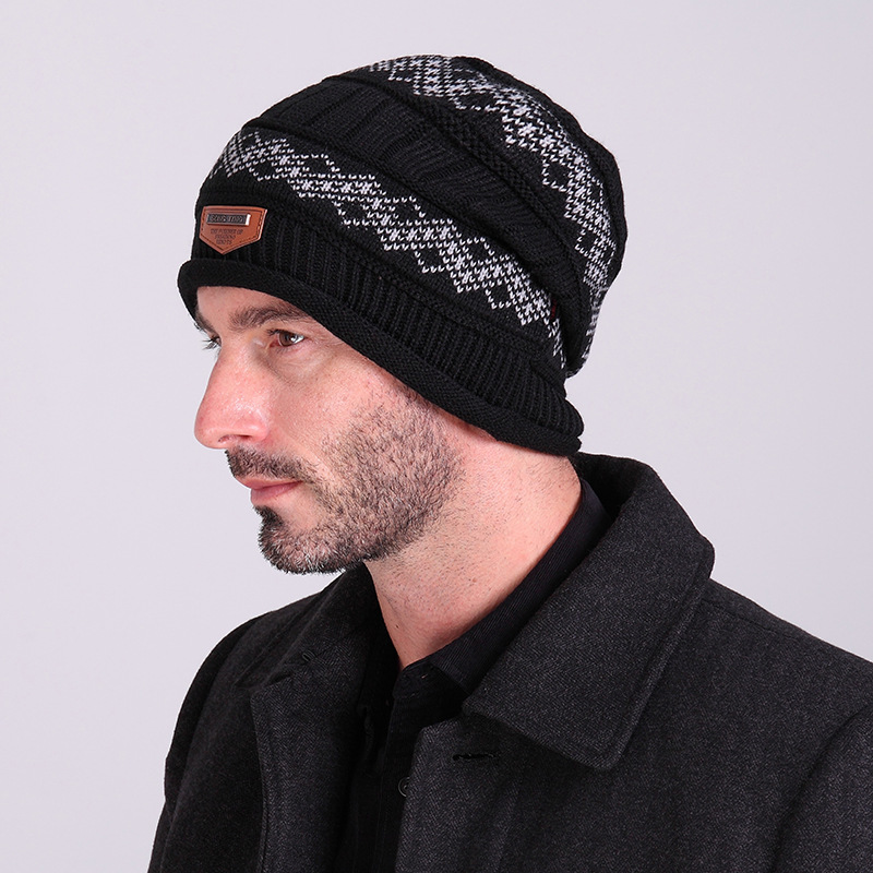 2017 new men warm hats beanie hat winter knitting wool hat for unisex caps lady beanie knitted caps women s hats warm z1 2017 Fashionew winter warm Unisex Cap knit hats Beanie Knitting men Lady Wool Hat Beanie Knitted Outdoor Sport Caps 4 color