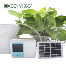 New Garden Intelligent Drip irrigation system Double pump Solar Automatic watering device Potted plant Timer Water Pump 1Set exported to 58 countries solar water pomp 3 years guarantee solar pump system for irrigation