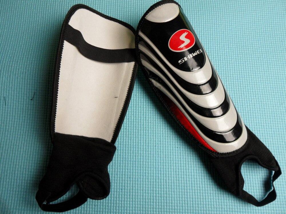 High quality font b Football b font shin pads Ankle Protection Shin Pad Professional Soccer Shin